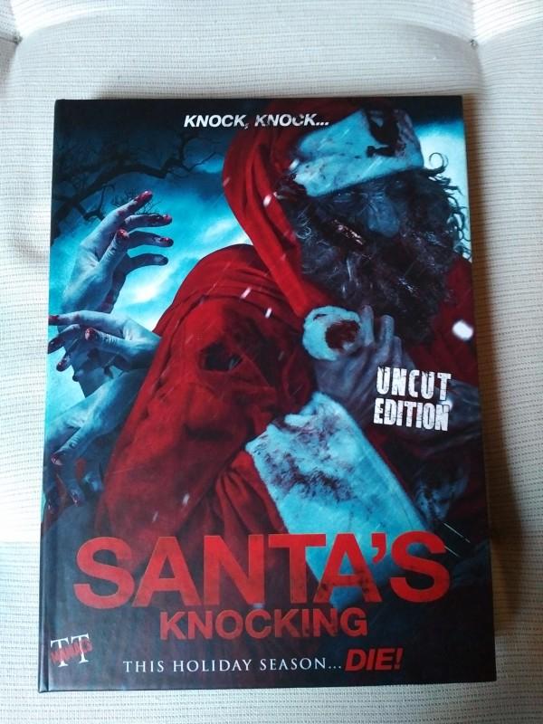 Santas Knocking - Mediabook