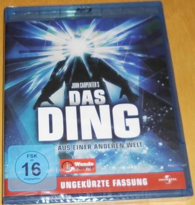 Das Ding aus einer anderen Welt (The Thing) Blu-ray Neu OVP