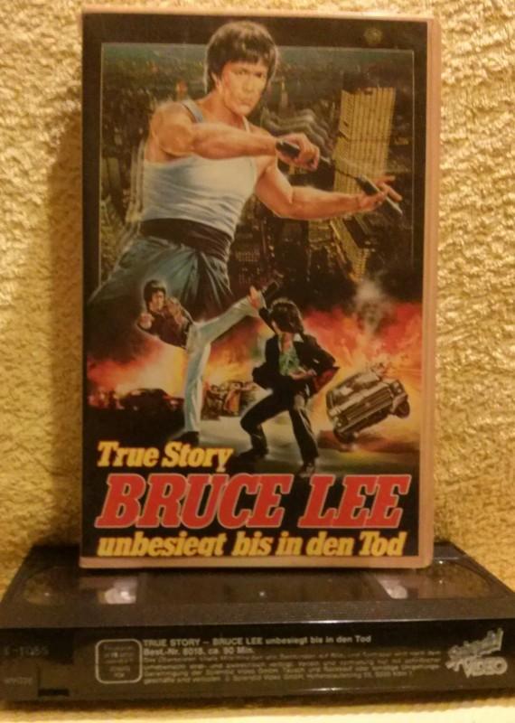 Bruce Lee unbesiegt bis in den Tod VHS selten!