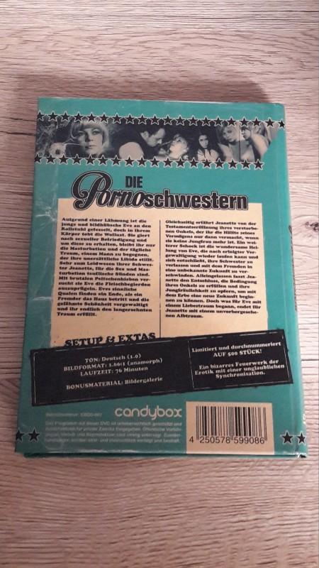 DIE PORNOSCHWESTERN - Dark & Dirty - Candybox limitiert 500