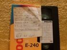 Leerkassette VHS ideal for long play Nr.421
