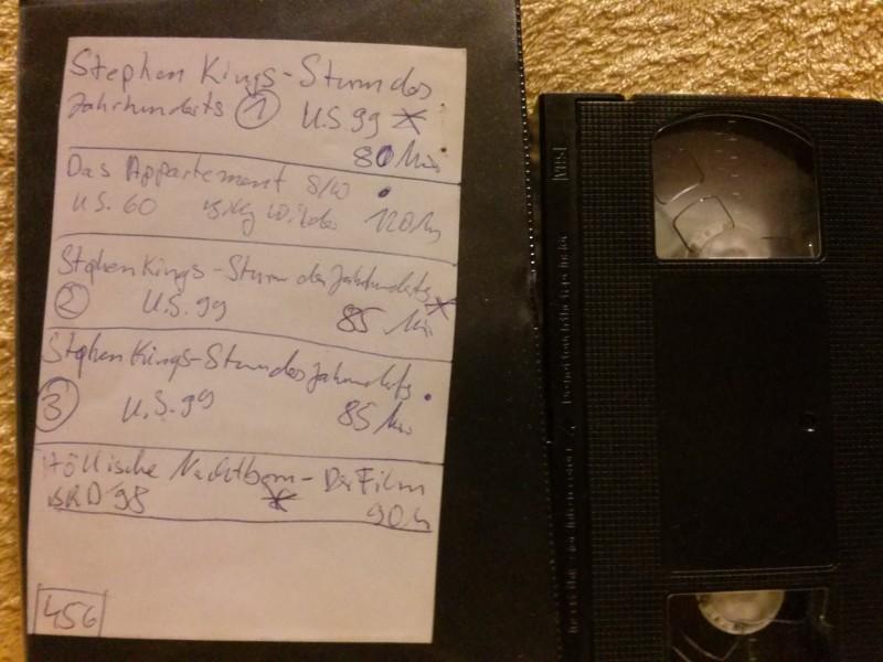Leerkassette VHS ideal for long play Nr.456