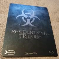 Resident Evil Trilogy ***** BLURAY STEELBOOK *****