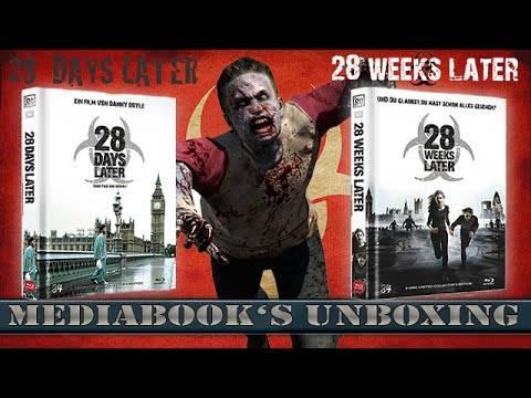 28 DAYS + WEEKS LATER - LIM.MEDIABOOK B(NR.6 U.125)UNCUT