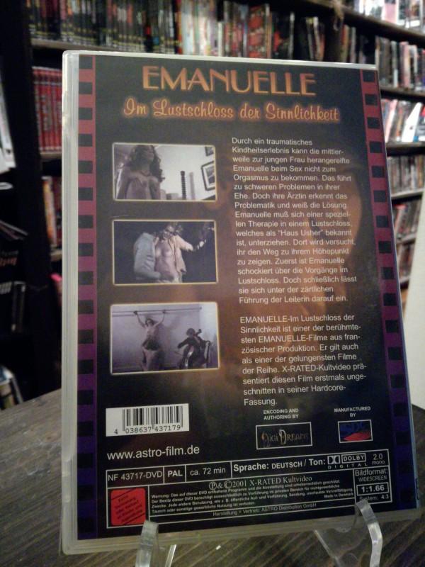 Emanuelle im Lustschloss der Sinnlichkeit -seltene astro DVD