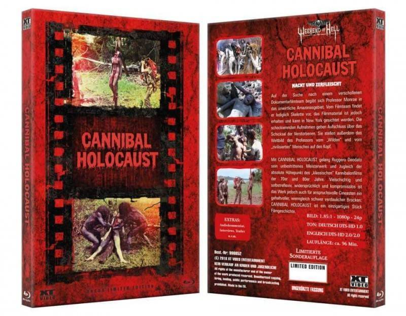 Cannibal Holocaust - große Hartbox WOH Edition - Uncut