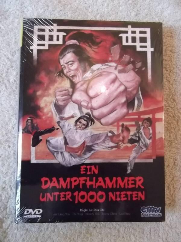 EIN DAMPFHAMER UNTER 1000 NIETEN UNCUT DVD HARTBOX NEU/OVP
