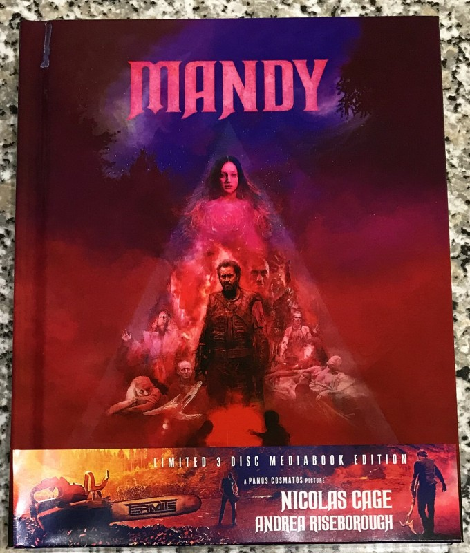 Mandy - Mediabook (3-Disc Limited Edition Cover A)