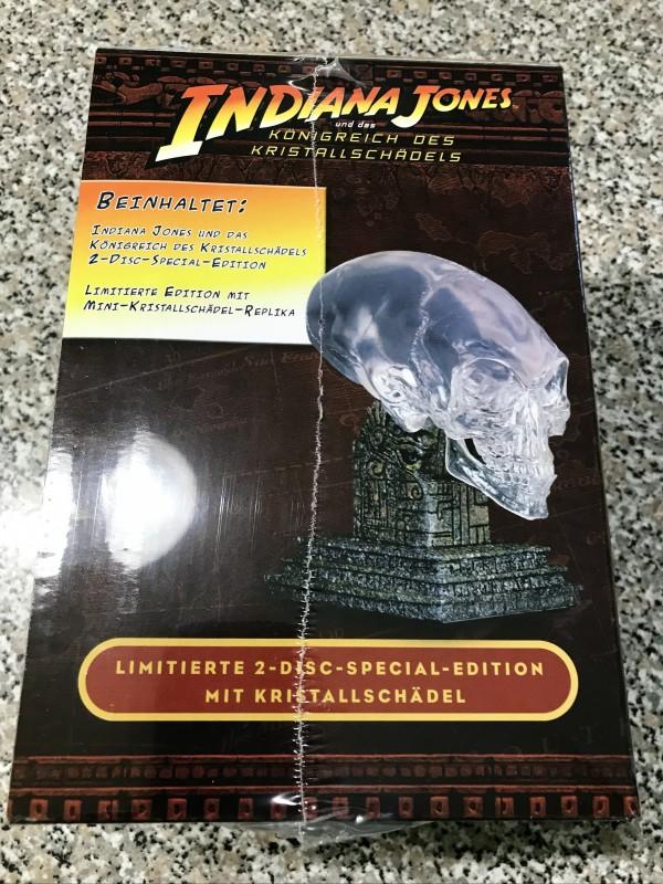 Indiana Jones/Königreich des Kristallschädels/mit Schädel