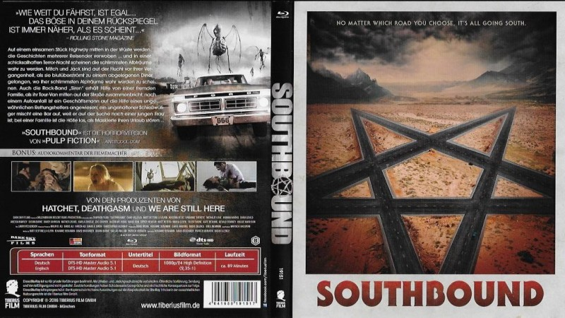 Southbound - uncut Edition - WENDECOVER