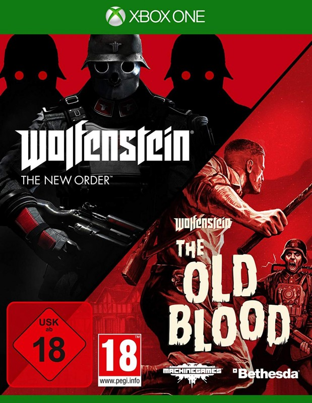 Wolfenstein - New Order+Old Blood ( XBOX ONE ) ( OVP )
