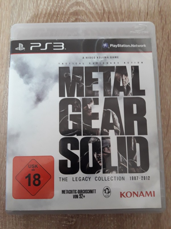 Metal Gear Solid - Legacy Collection - 1987 - 2012 Uncut PS3