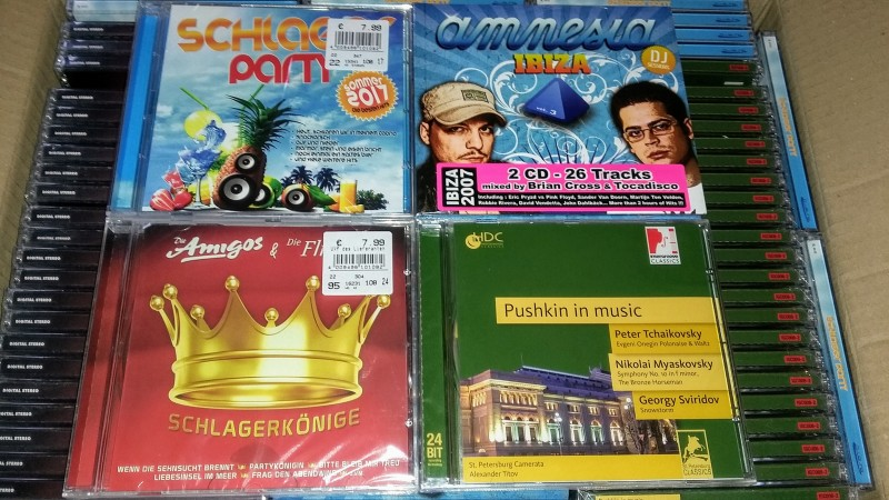 83-teiliges CD / Musikpaket - Alle Neu & OVP!
