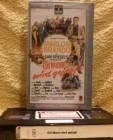 Ein Mann wird gejagt VHS Marlon Brando RCA Silber Erstausgab