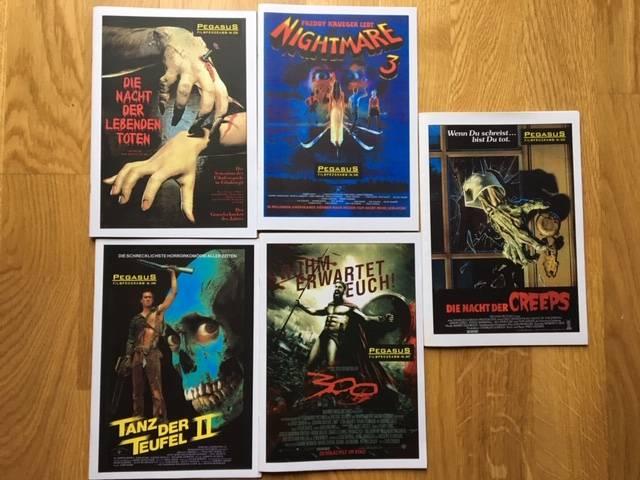 5x Pegasus Filmprogramm: Tanz der Teufel 2, Nightmare 3 RAR