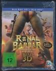 Ronal der Barbar 3D und 2D - Blu-Ray - NEU
