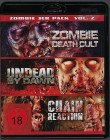 Zombie Death Cult, Undead by Dawn, Chain Reaction - Blu-Ray