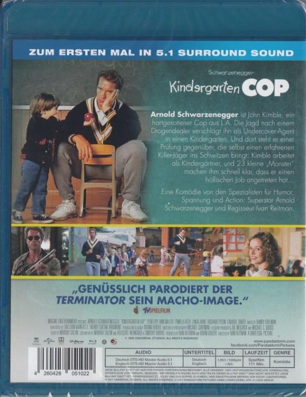 Kindergarten Cop - Schwarzenegger - UNCUT - NEU/OVP