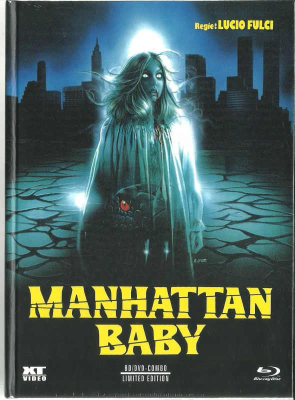 MANHATTAN BABY - Mediabook  OVP