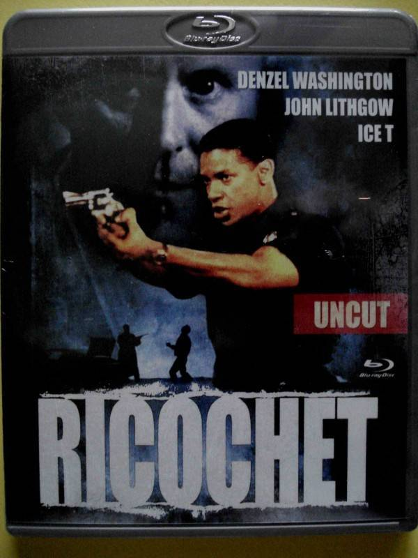 RICOCHET   (UNCUT - Fassung)  - BD -