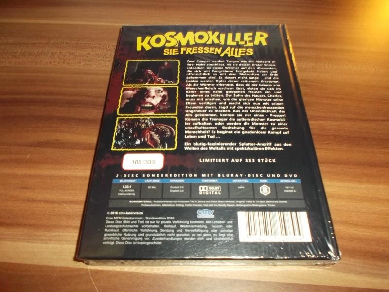 KOSMOKILLER - SIE FRESSEN ALLES - MEDIABOOK - COVER A - NEU