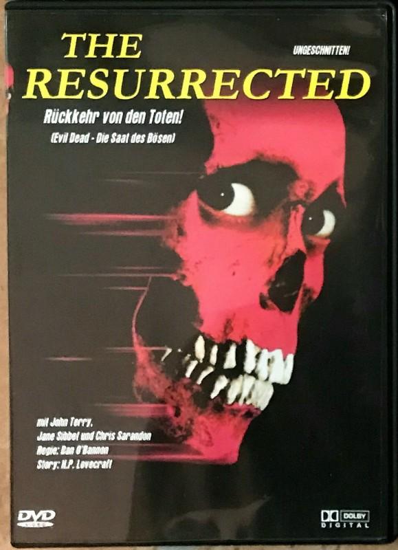 The Resurrected - Die Saat des Bösen - seltene Filme uncut