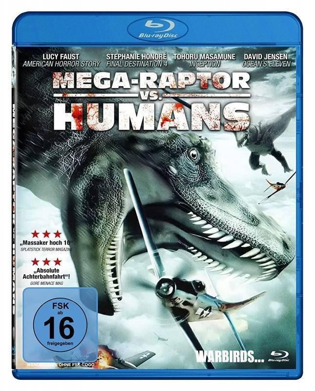 Mega-Raptor Vs. Humans [Blu-ray] OVP