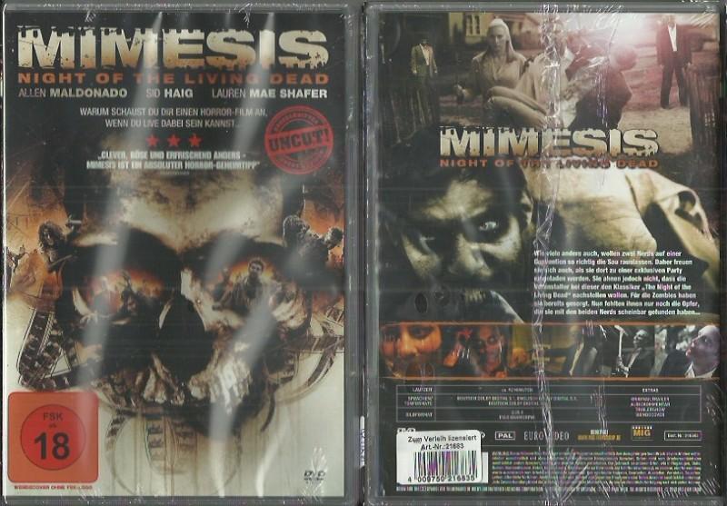 Mimesis - Night of the Living Dead.(4905445645, NEU AKTION)