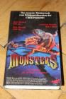 VHS - MONSTERS Sie kommen um die Welt zu erobern HIGHLIGHT