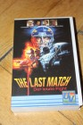 VHS - THE LAST MATCH Der letzte Fight Football Trash UV