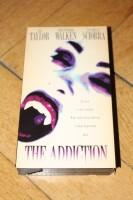 VHS - THE ADDICTION Christopher Walken Abel Ferrara US Pappe