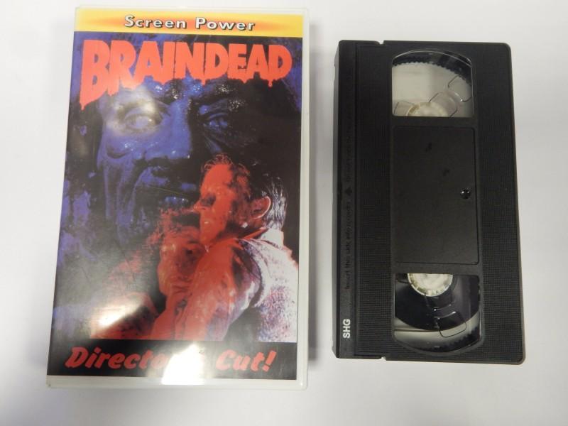 Braindead VHS Screen Power Directors Cut