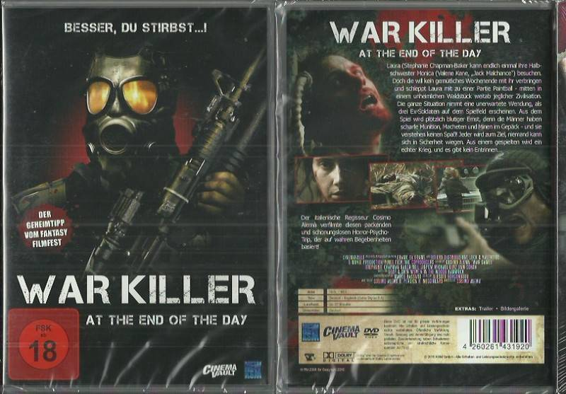 War Killer (3902512, NEU - !! AB 1 EURO!!)