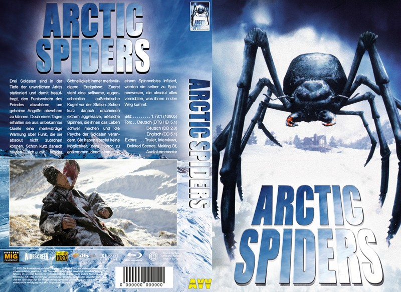 Arctic Spiders (Blu-ray) (Große Hartbox)
