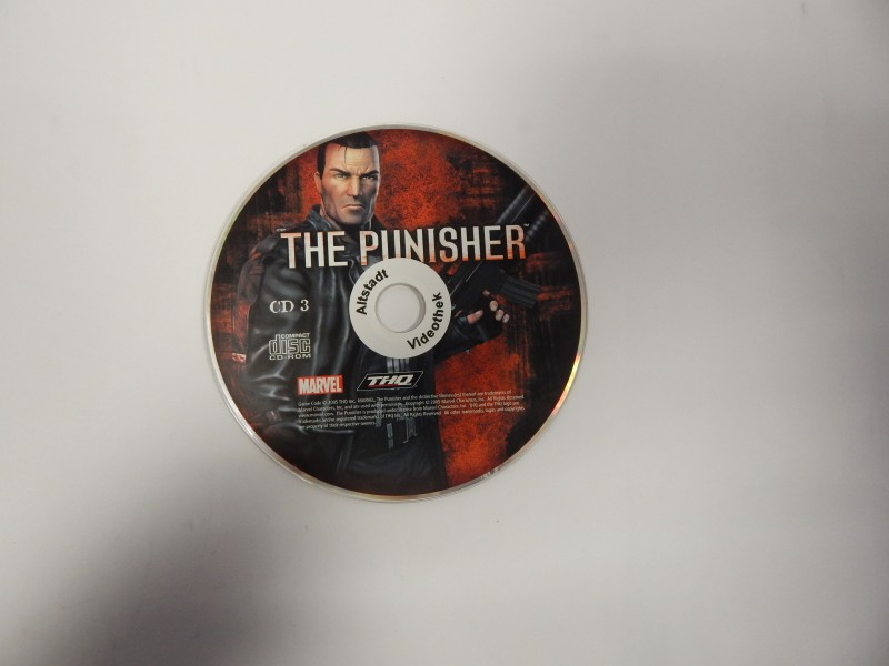 The Punisher PC CD ROM Pegi 18+ Uncut Marvel THQ