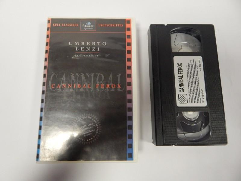 Cannibal Ferox Rache der Kannibalen VHS Astro