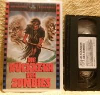 Die Rückkehr der Zombies VHS Astro Uncut