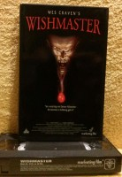 Wishmaster Wes Craven VHS Uncut Erstausgabe