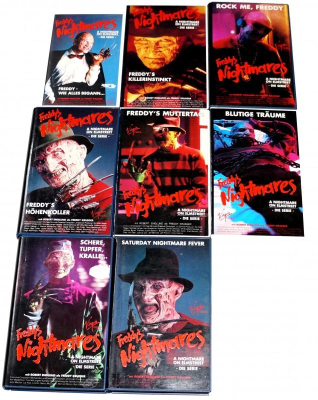 FREDDY´S NIGHTMARES * alle deutschen Folgen (VHS) * Rarität