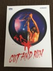 Cut and Run Mediabook Blu Ray Cover B 098/333 Uncut Wie neu
