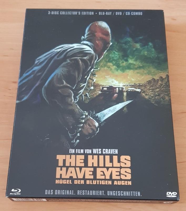The Hills have Eyes - 3 Disc Collectors Edition Digipack