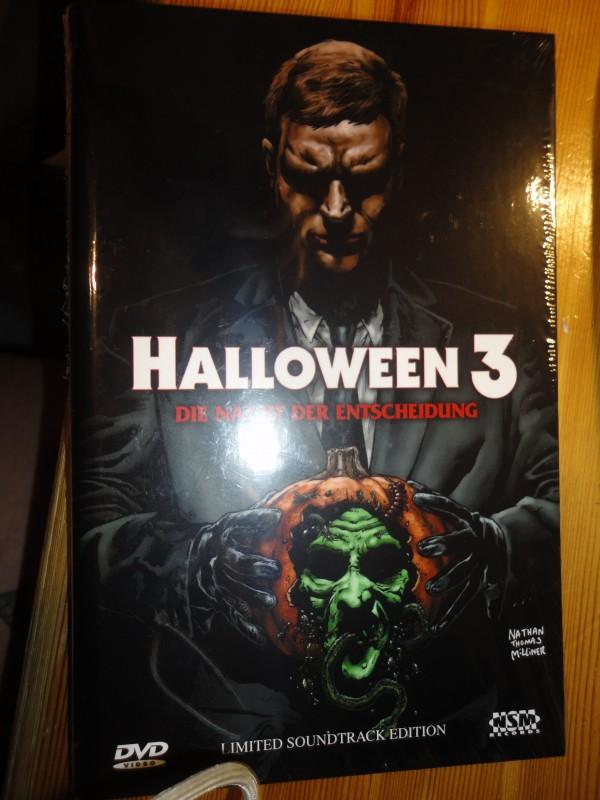 Halloween 3, gr. Hartbox, 008/111, NSM,  neu, DVD