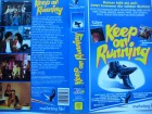 Keep on Running ... Timothy Peach, Billie Zöckler  ... VHS