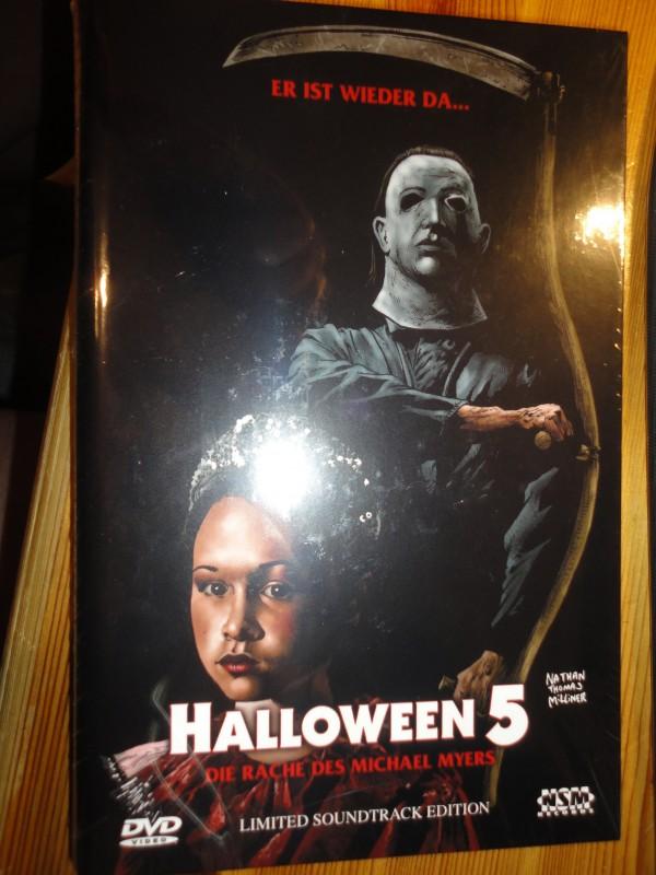 Halloween 5, gr. Hartbox, 008/111, NSM, neu, DVD