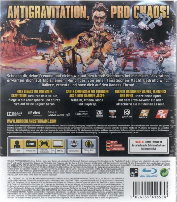 Borderlands : The Pre-Sequel! (36138)