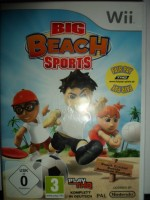 Big Beach Sports. - Nintendo Wii