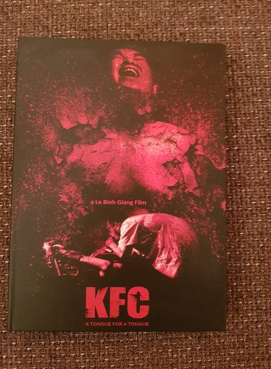 KFC - A Tongue for A Tongue MEDIABOOK COVER A *UNCUT*