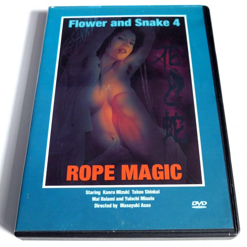 Flower and Snake # Teil 4 # Rope Magic # Drama Sex Krimi OmU