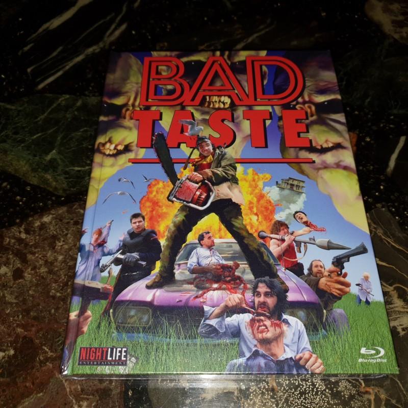Bad Taste 4 Disc Blu Ray-DVD-CD MEDIABOOK lim.40/111 St.Neu