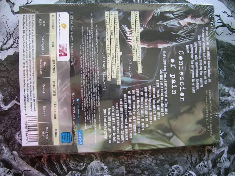 CONFESSION OF PAIN DIGIPACK DVD EDITION NEU OVP